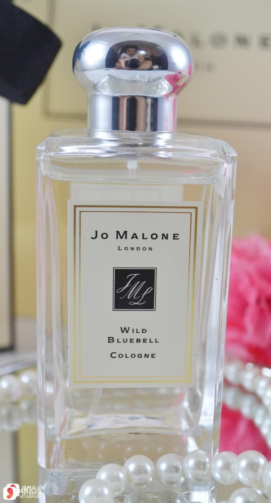 Review chi tiết nước hoaJo Malone Wild Bluebell 2