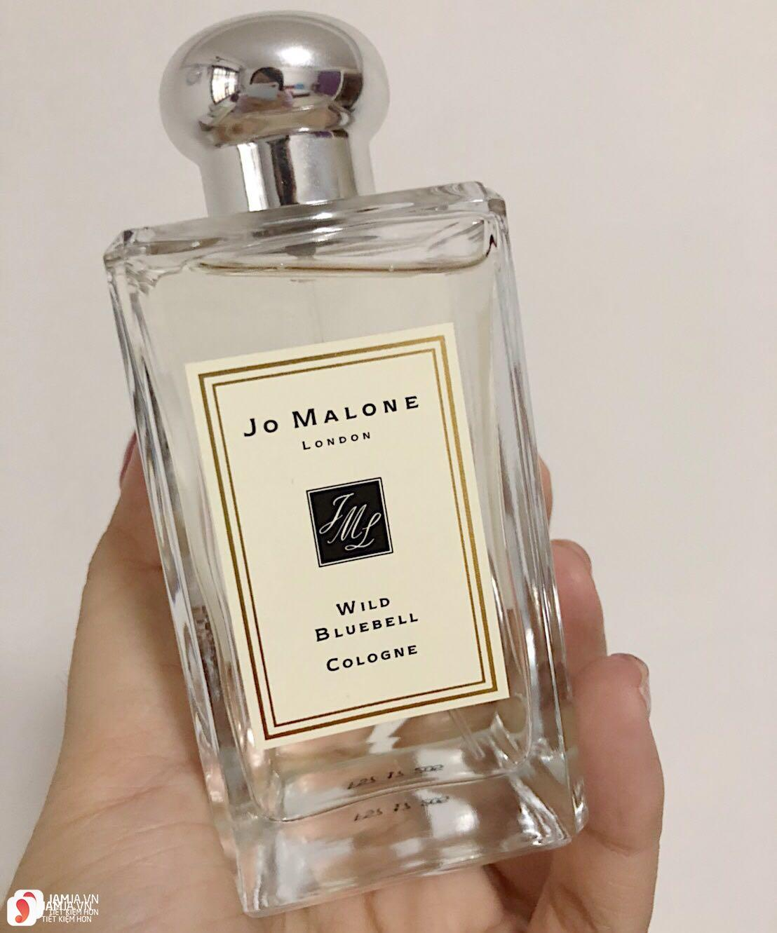 Review chi tiết nước hoaJo Malone Wild Bluebell 4