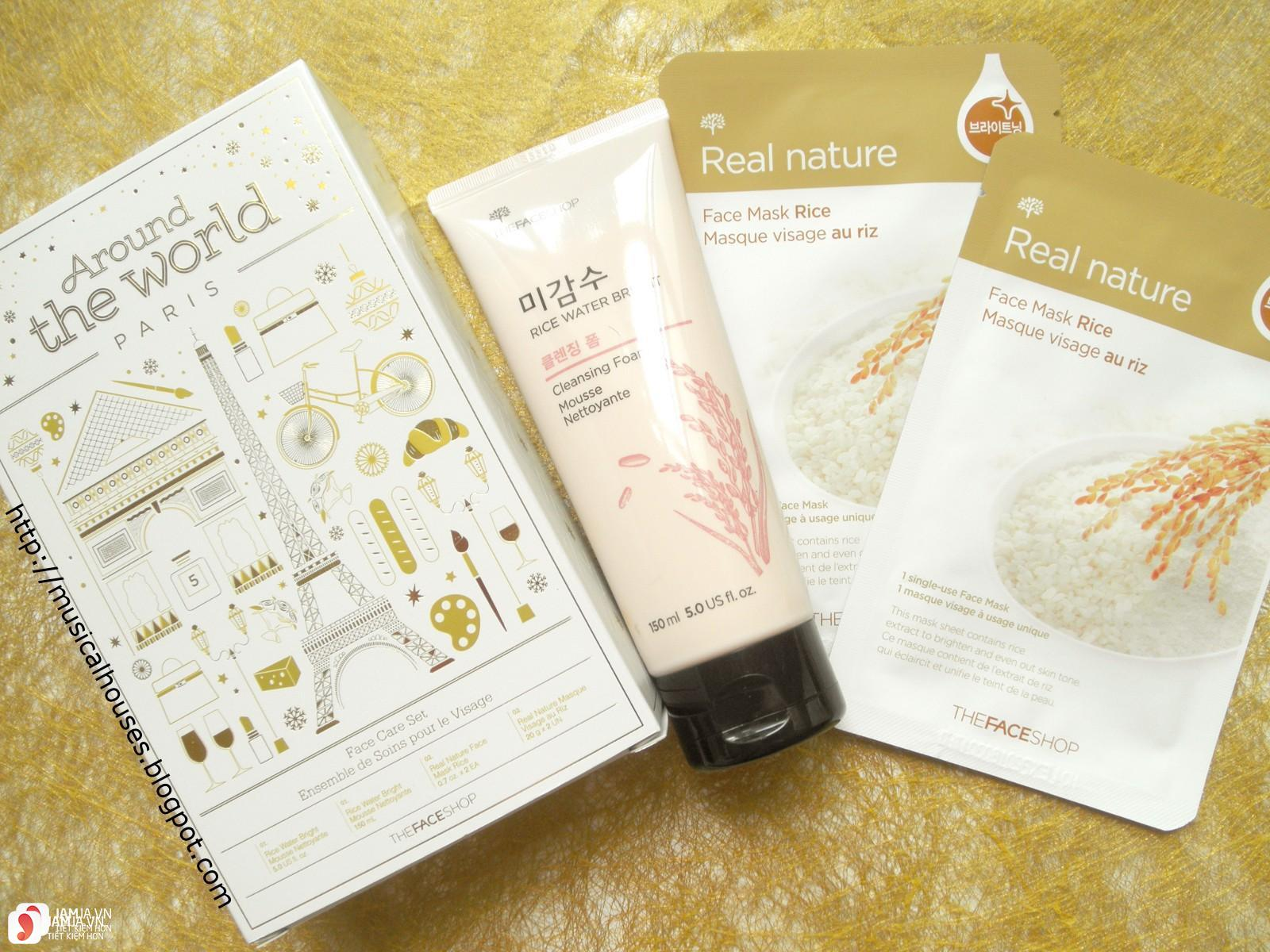 Review mặt nạ The Face Shop Real Nature Rice Riz Mask Sheet 1