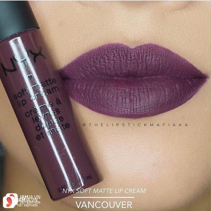 Son kem lì NYX Soft Matte Lip Cream màu Vancouver