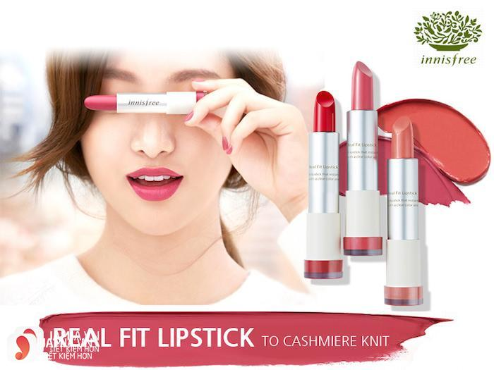 Son Innisfree Real Fit Lipstick 5