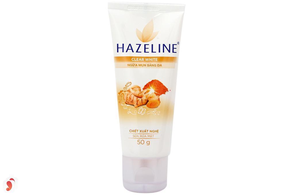 sữa rửa mặt nghệ Hazeline 1