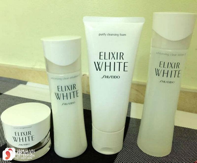 Sữa rửa mặt Shiseido Elixir White Purify Cleansing Foam 4