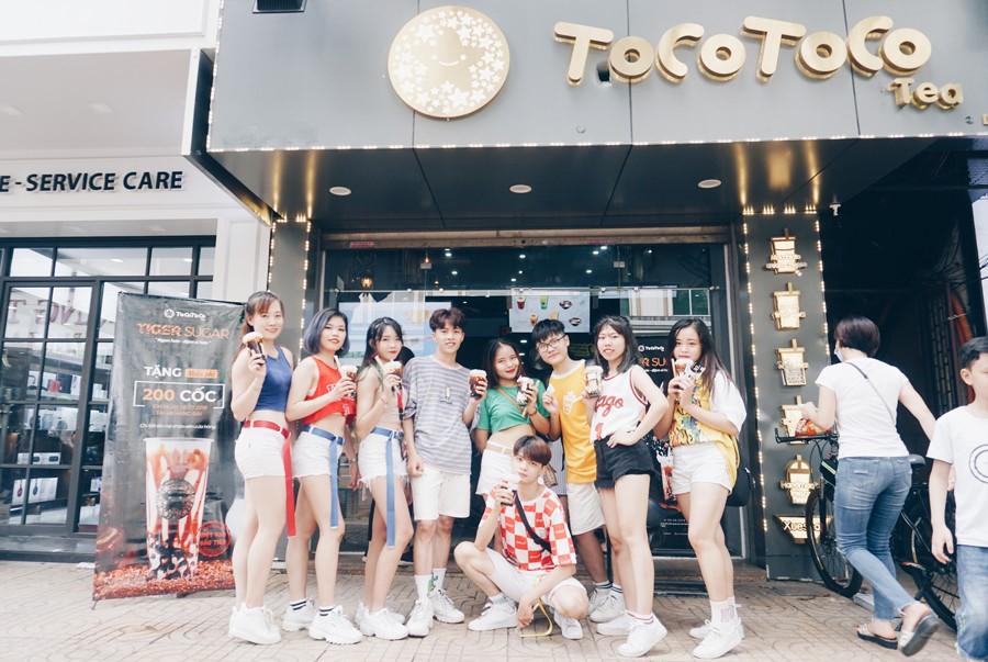 Trà sữa TocoToco - Hàng Bài