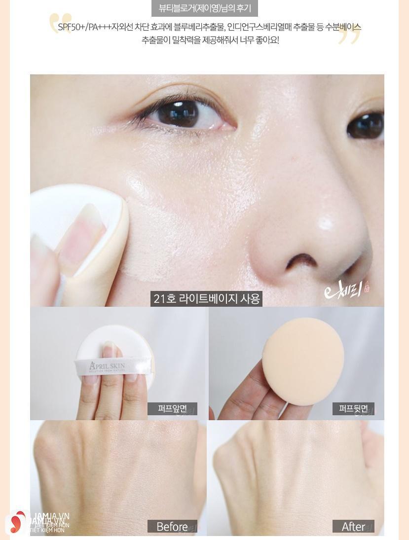 Top 13 sản phẩm phấn nước Hàn Quốc tốt nhất hiện nay 2