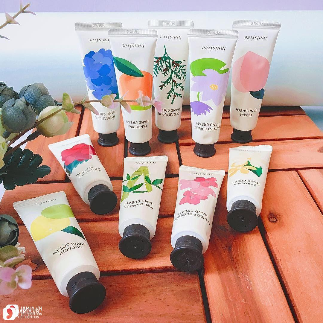 sản phẩm kem dưỡng da tay Innisfree Jeju Hand Cream