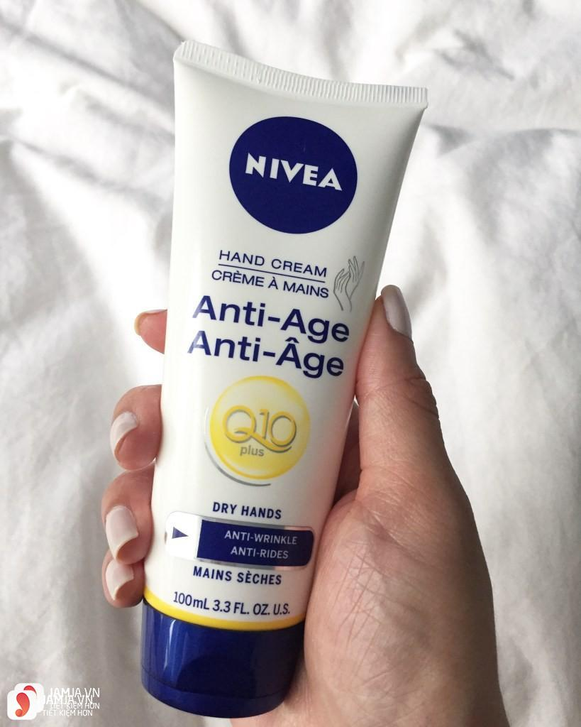 Kem dưỡng da tay Nivea Hand Q10 Plus Age-Defying Hand Cream