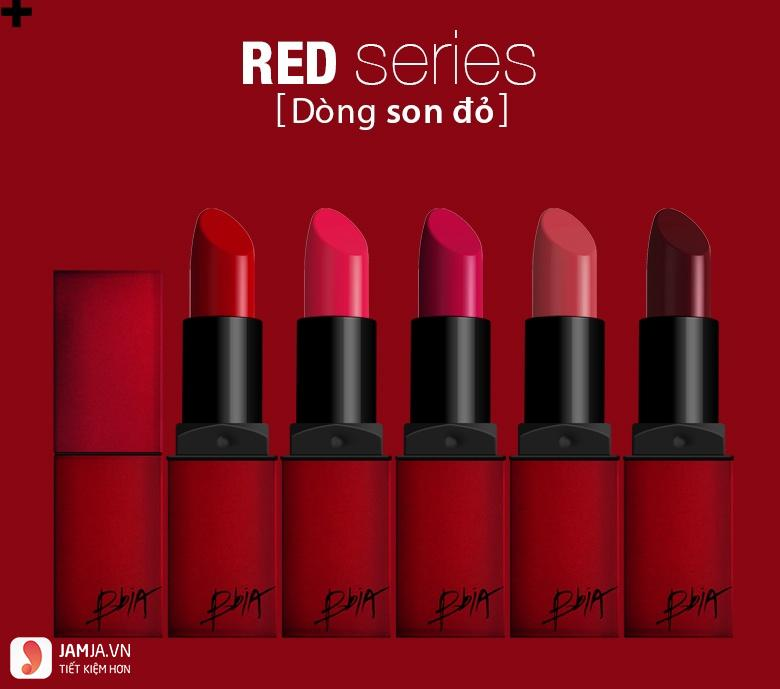 BBIA Last Lipstick Red Series