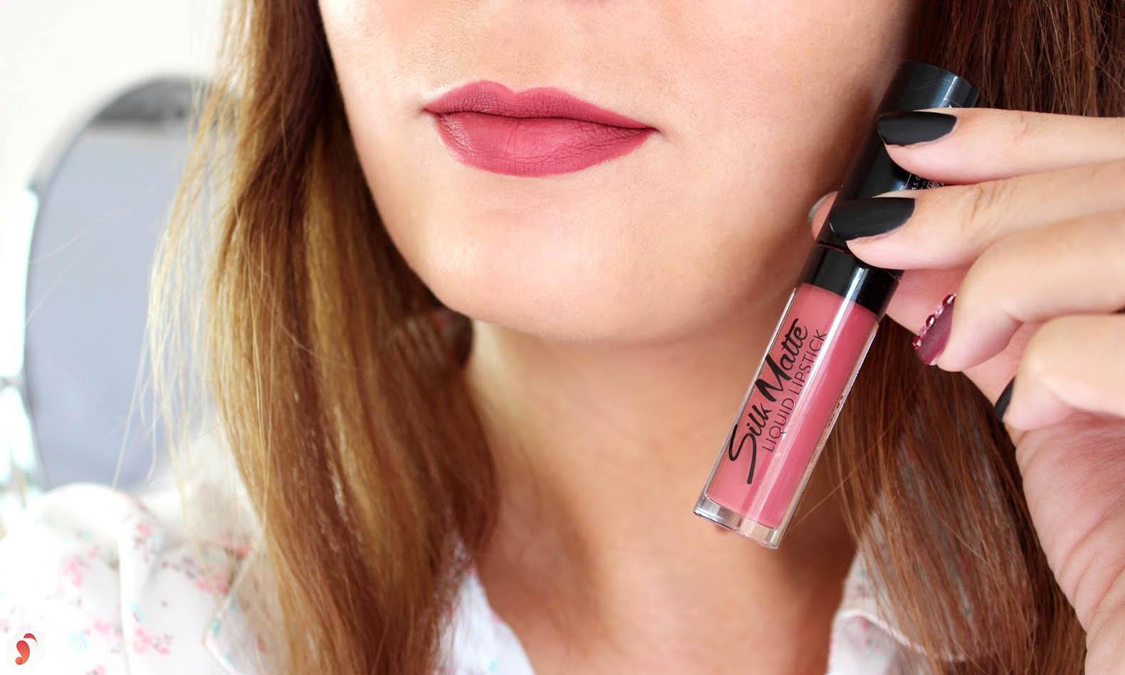 Review dòng son Flormar Silk Matte Liquid Lipstick 6