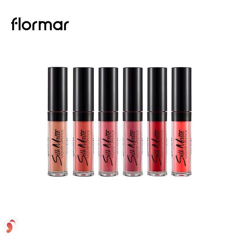 Review dòng son Flormar Silk Matte Liquid Lipstick 8