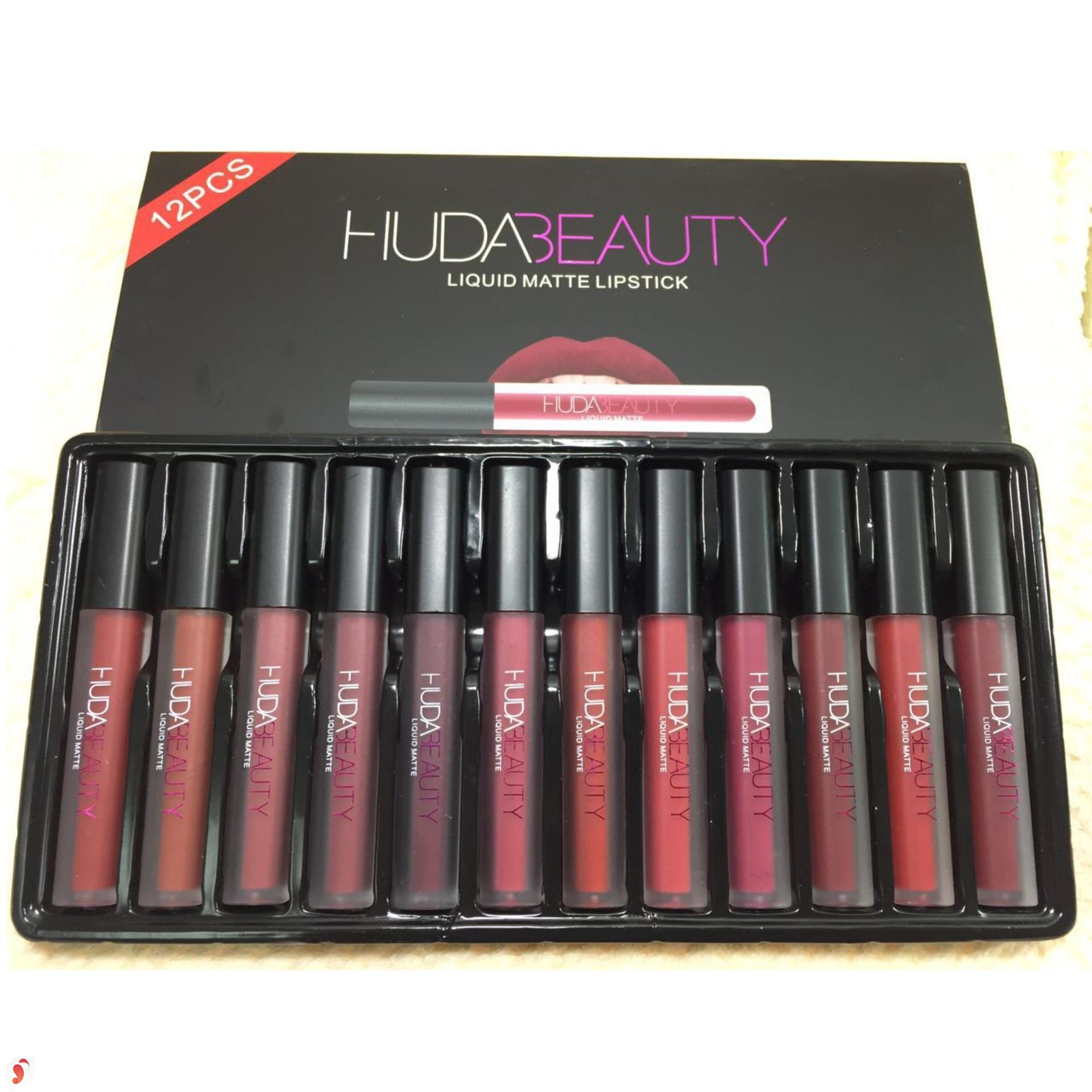 Review dòng son Huda Beauty Liquid Matte Lipstick 1