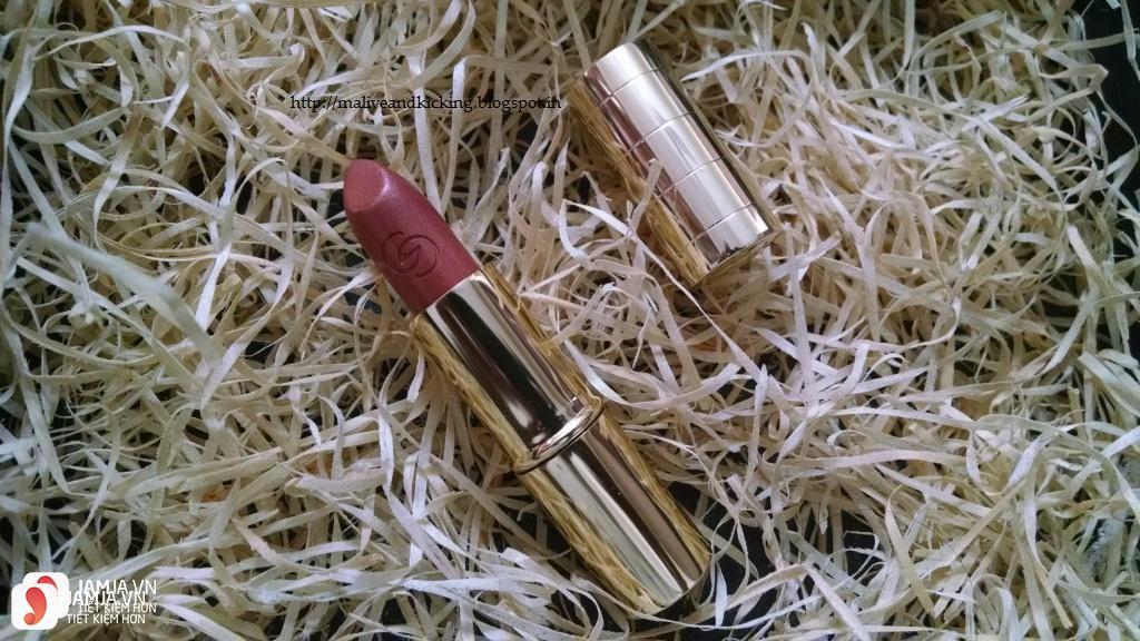 Review son Oriflame Giordani Gold Iconic Lipstick SPF15 6