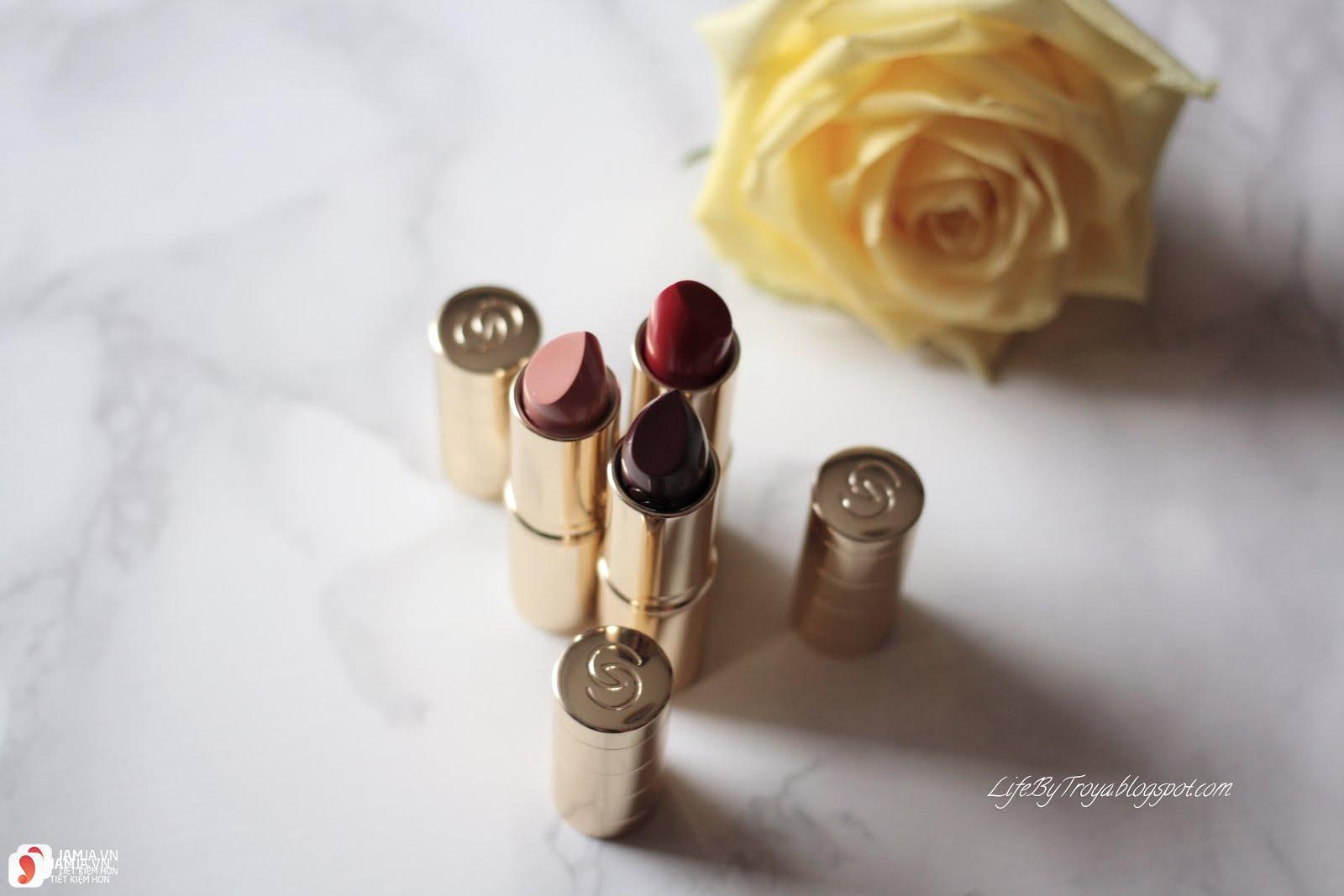 Review sonOriflame Giordani Gold Iconic Matte Lipstick SPF12 2