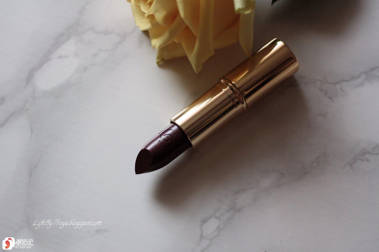 Review sonOriflame Giordani Gold Iconic Matte Lipstick SPF12 3