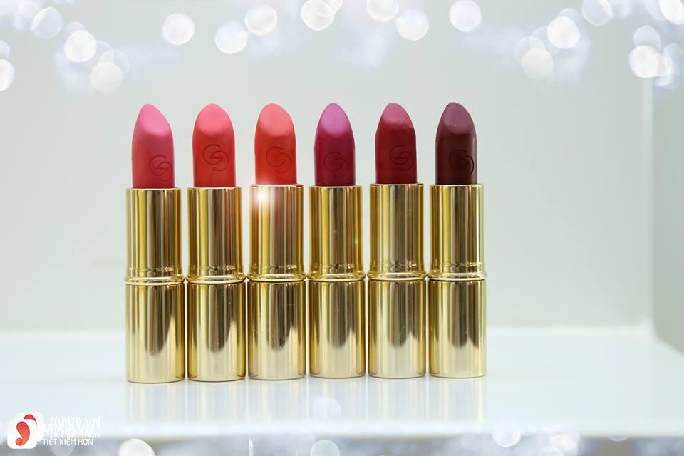 Review sonOriflame Giordani Gold Iconic Matte Lipstick SPF12 5