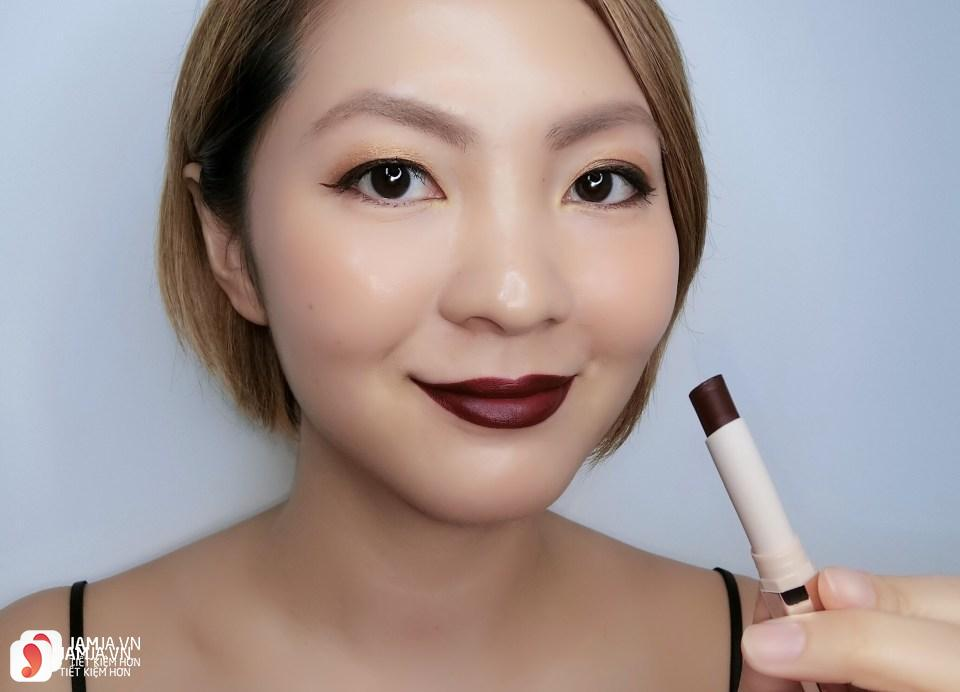 Son Fenty Mattemoiselle Plush Matte Lipstick review 13