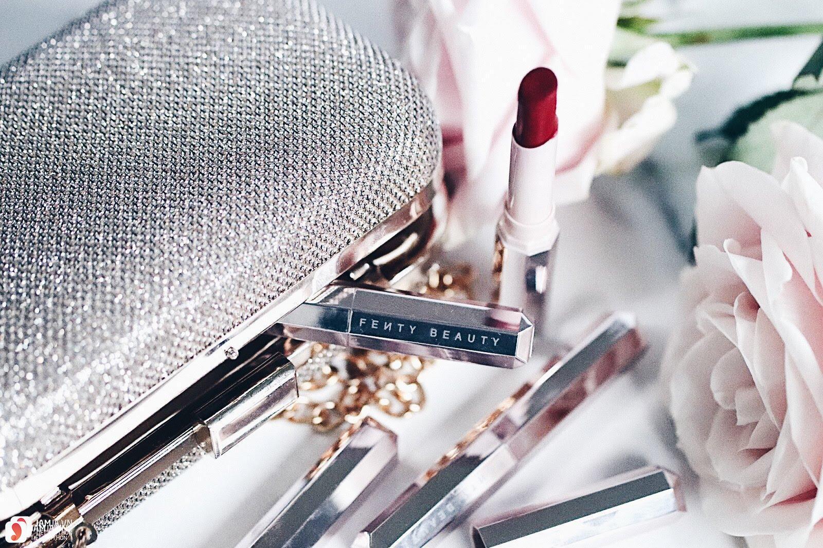 Son Fenty Mattemoiselle Plush Matte Lipstick review 19