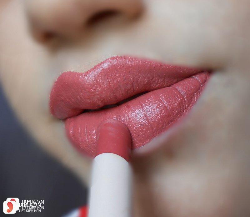 Son Fenty Mattemoiselle Plush Matte Lipstick review 7