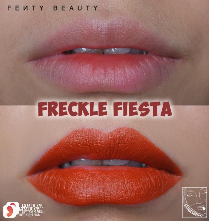 Son Fenty Mattemoiselle Plush Matte Lipstick review 8
