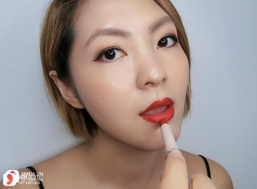 Son Fenty Mattemoiselle Plush Matte Lipstick review 9
