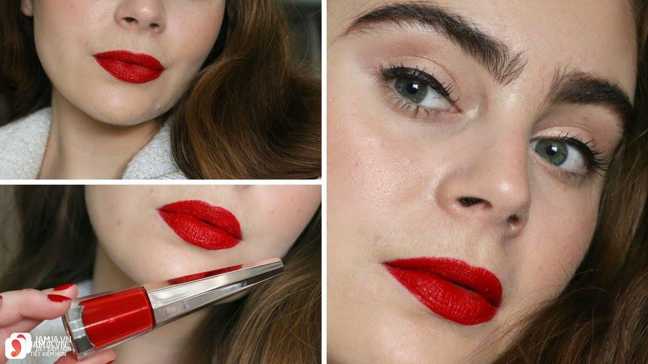 Son Fenty Stunna Lip Paint Longwear Fluid Lipstick review 12