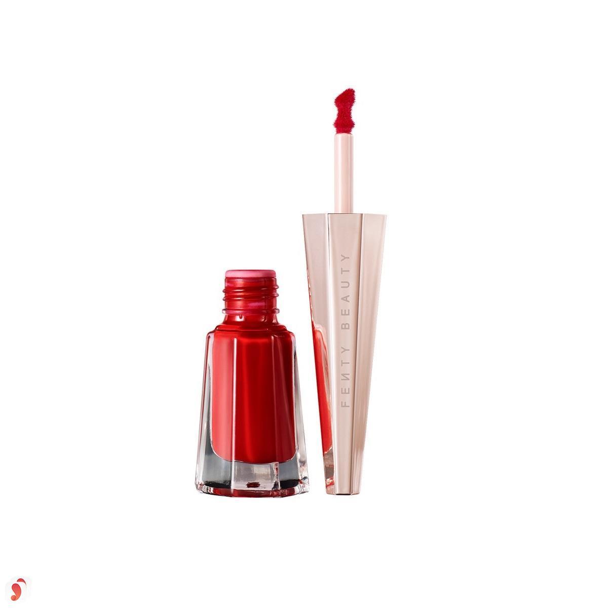 Son Fenty Stunna Lip Paint Longwear Fluid Lipstick review 6
