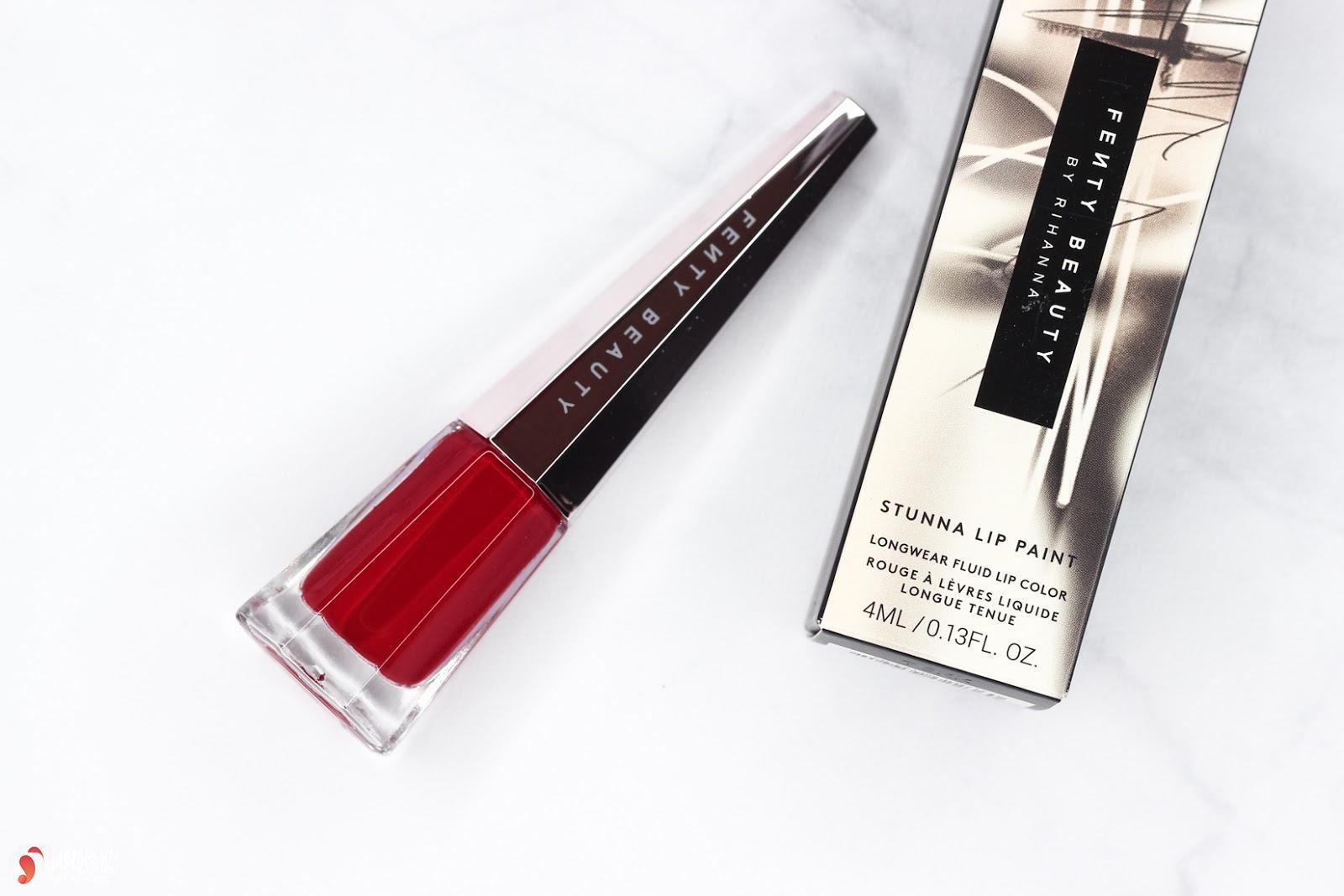 Son Fenty Stunna Lip Paint Longwear Fluid Lipstick review 8