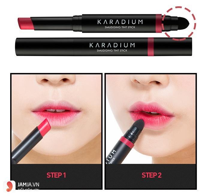 bang màu son karadium 2