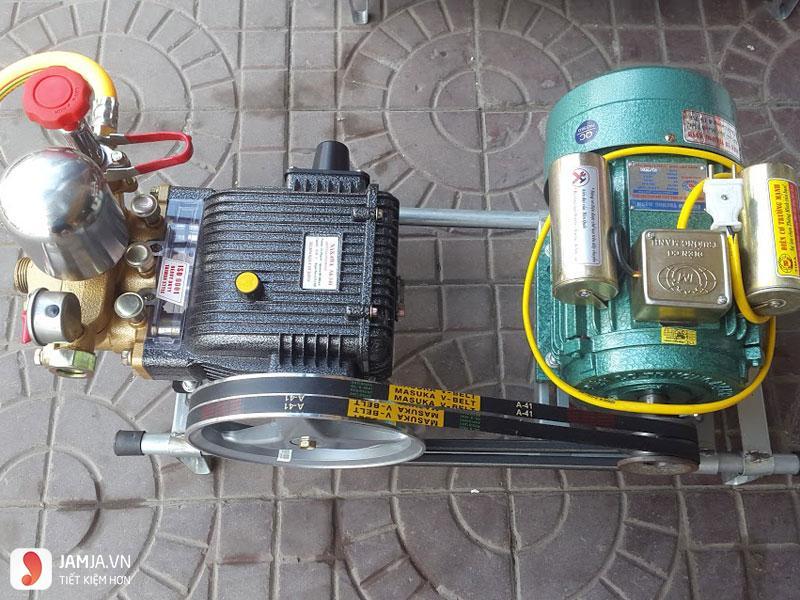 bộ phận chính máy xịt rửa cao áp