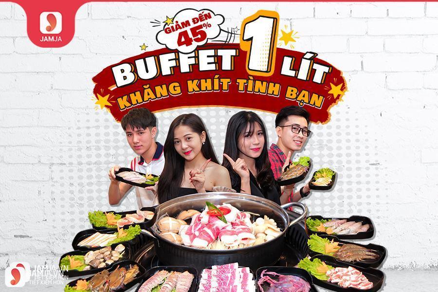 Buffet 1 lít - 1