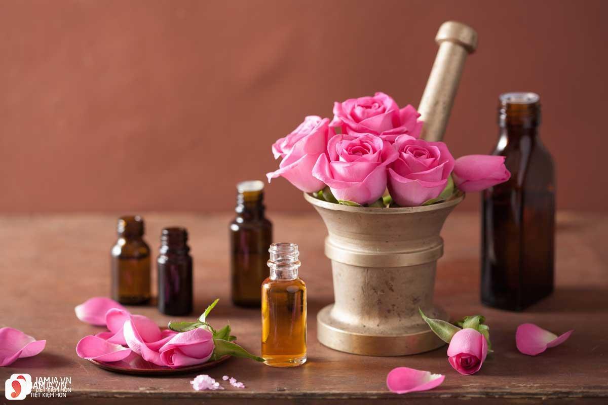 Cách chưng cất nước hoa hồng 1