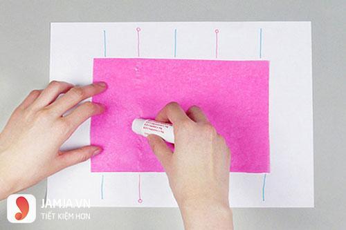 Cách làm lồng đèn tròn bằng giấy - 2