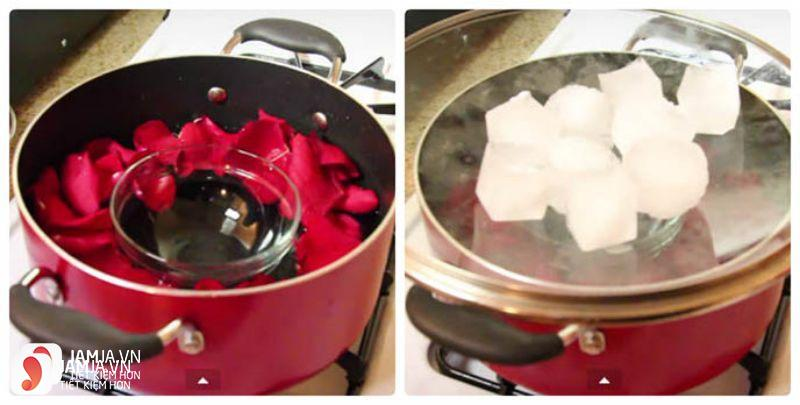 Cách làm nước hoa hồng 6