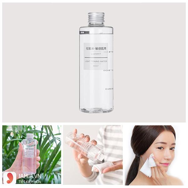 Cách sử dụng nước hoa hồng Muji - 1