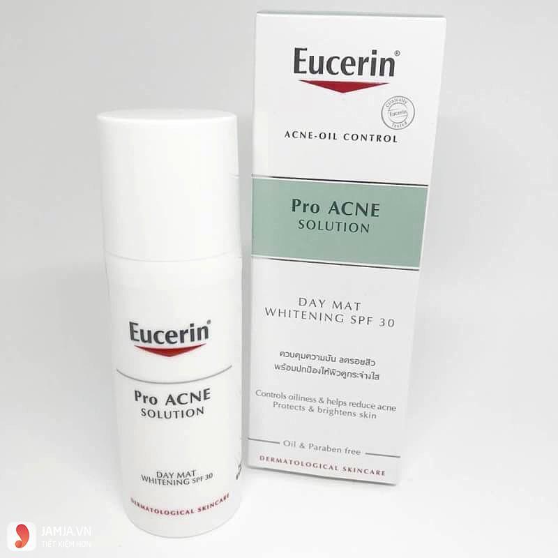 kem trị mụn trắng da Eucerin 2
