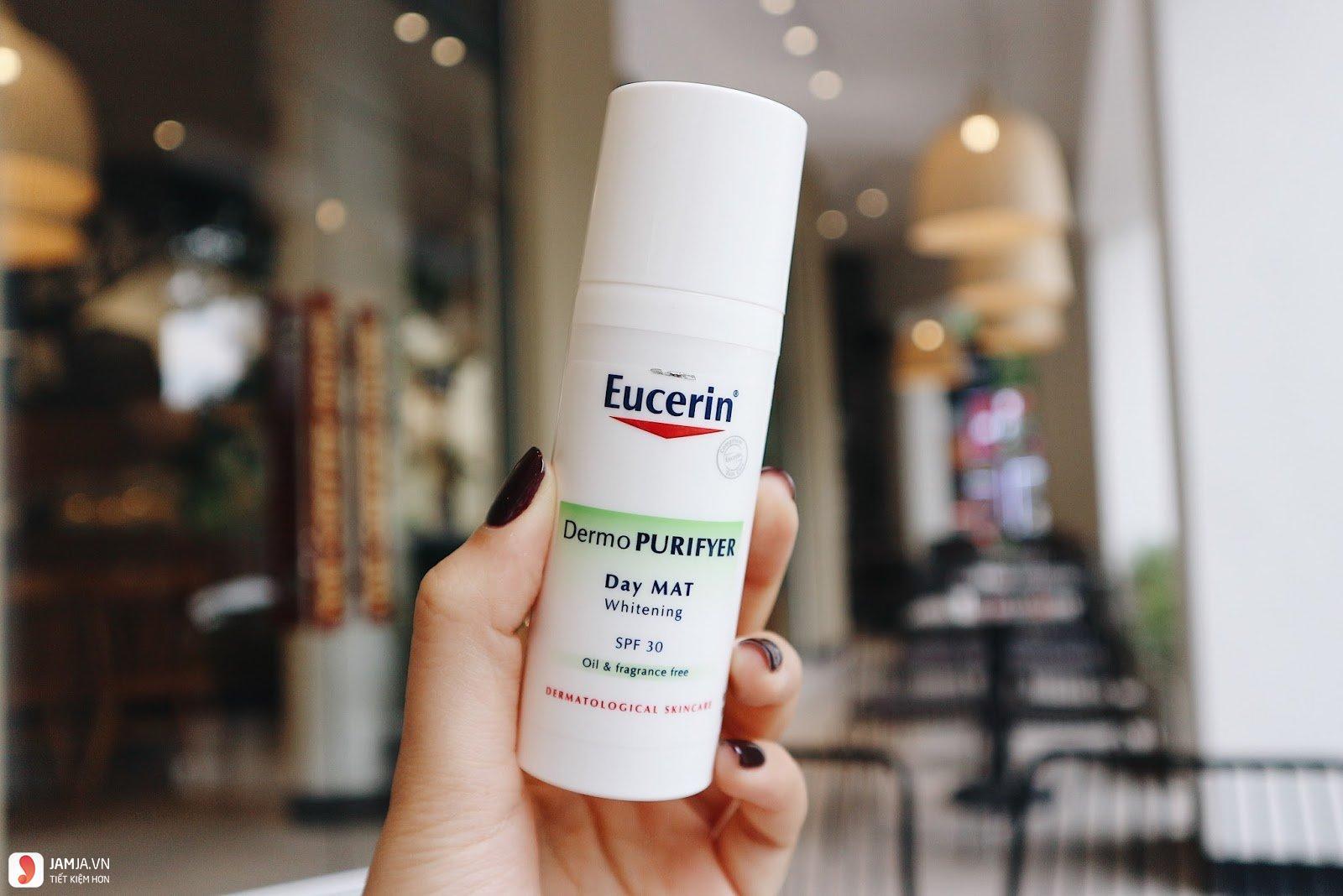 kem trị mụn trắng da Eucerin 3