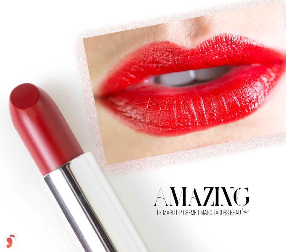 swatch son Le Marc Lip Cremes màu Amazing 204