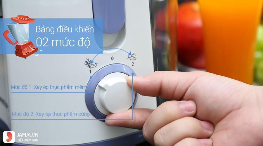 Máy ép trái cây Philips HR1811 - 1