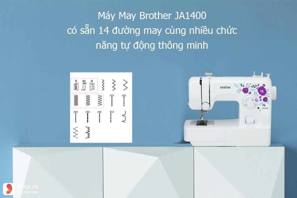 Máy may Brother ja1400