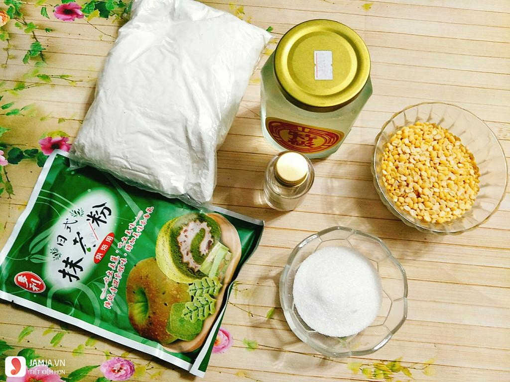 Nguyên liệu làm bánh Trung Thu dẻo đơn giản 2