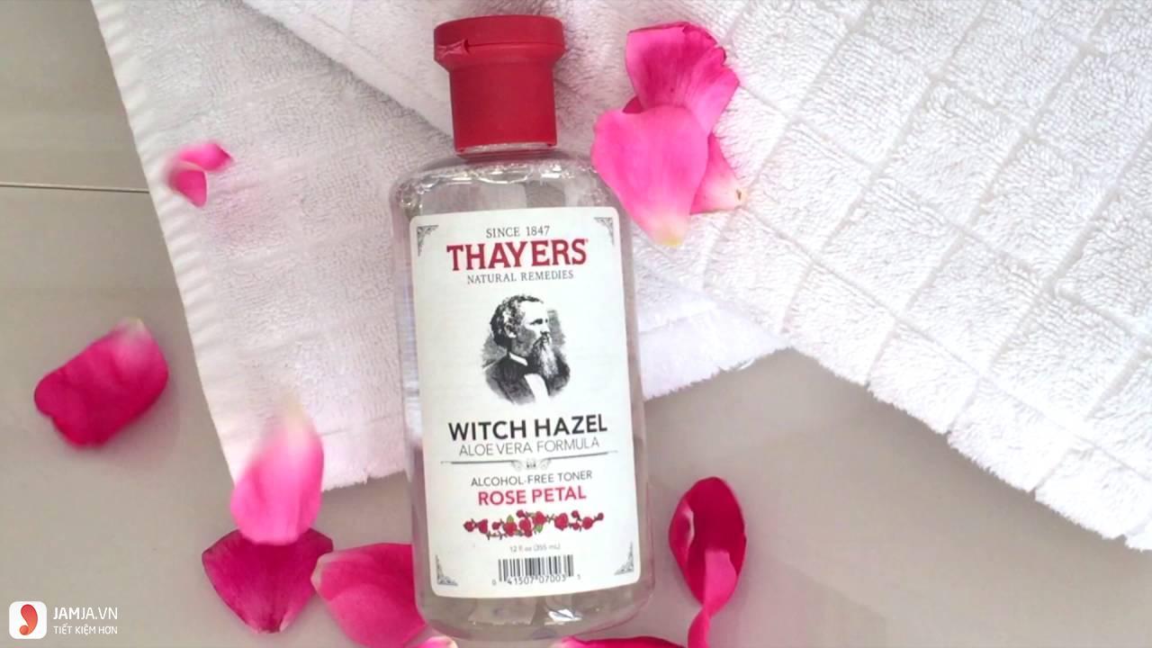 Nước hoa hồngAlcohol Free Witch Hazel Toner 1