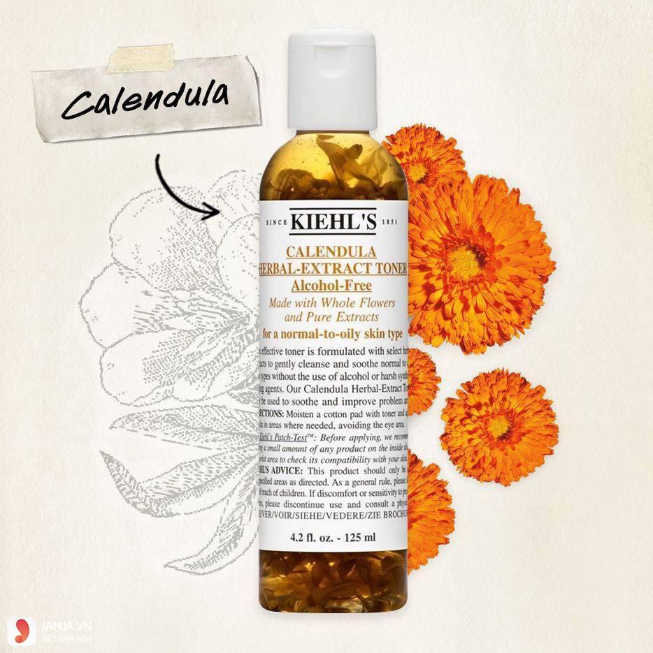 Nước hoa hồng Kiehl's Calendula Herbal Extract Alcohol- Free 3