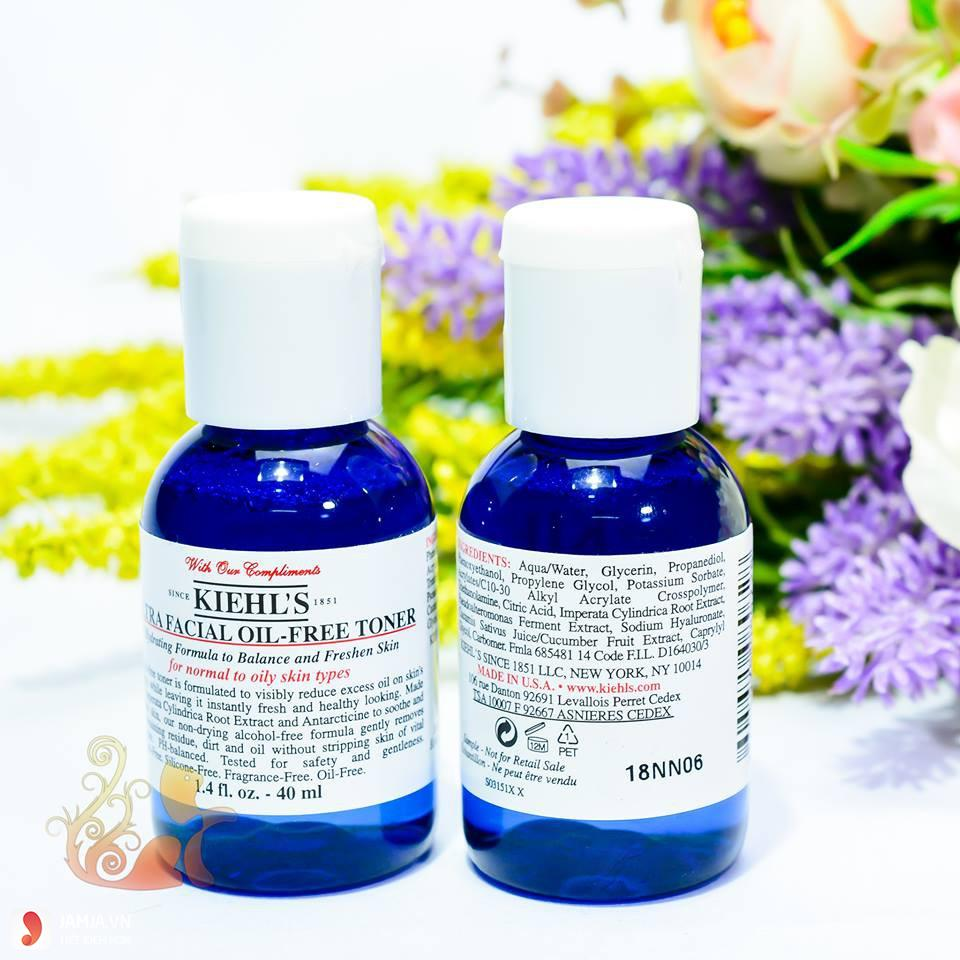 Nước hoa hồng Kiehl's Ultra Facial Oil- Free cho da dầu 6