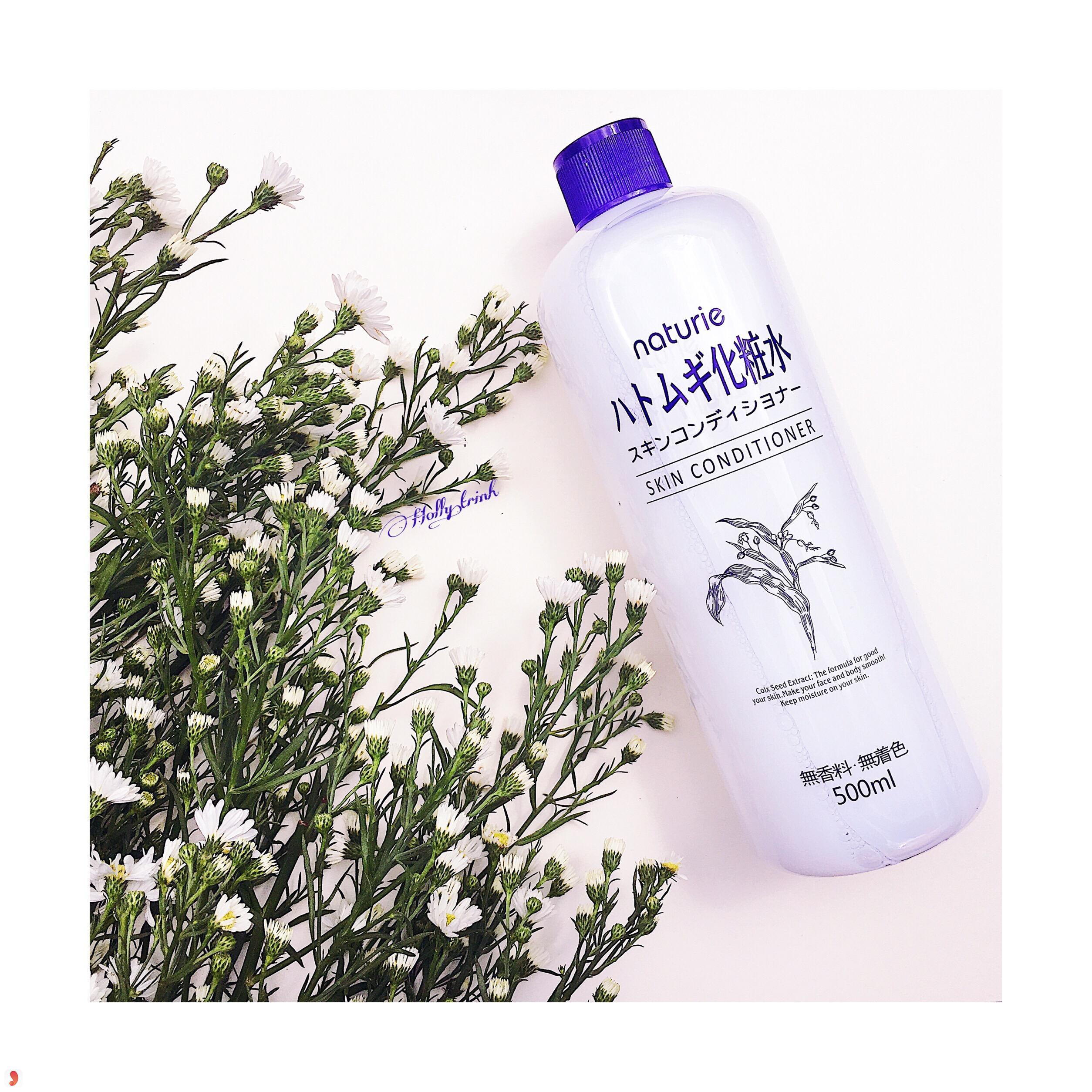 Nước hoa hồngNaturie Hatomugi Skin Conditioner