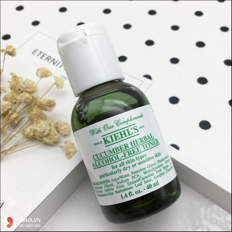 Nước hoa hồng Kiehl's Cucumber Herbal Alcohol- Free 2