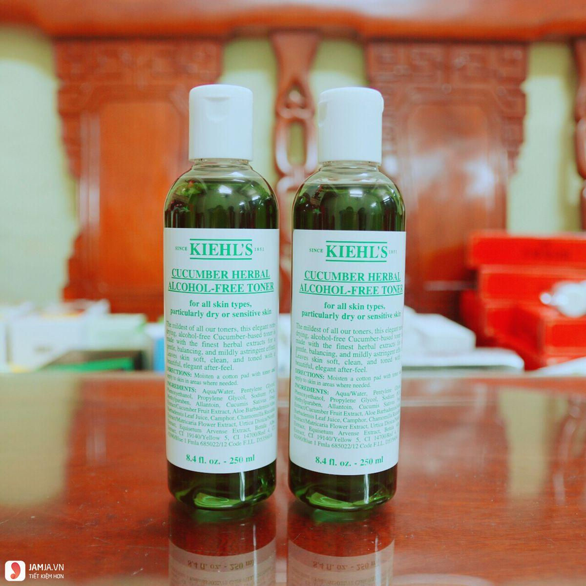 Nước hoa hồng Kiehl's Cucumber Herbal Alcohol- Free 4