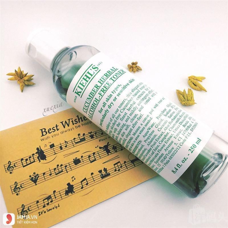 Nước hoa hồng Kiehl's Cucumber Herbal Alcohol- Free 8