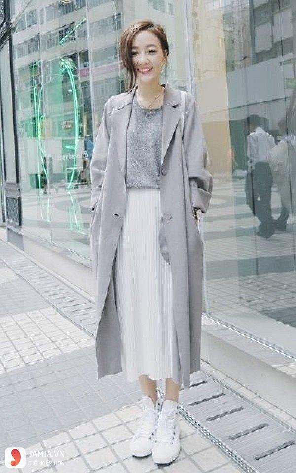 Phối đồ cùng chân váy maxi 3
