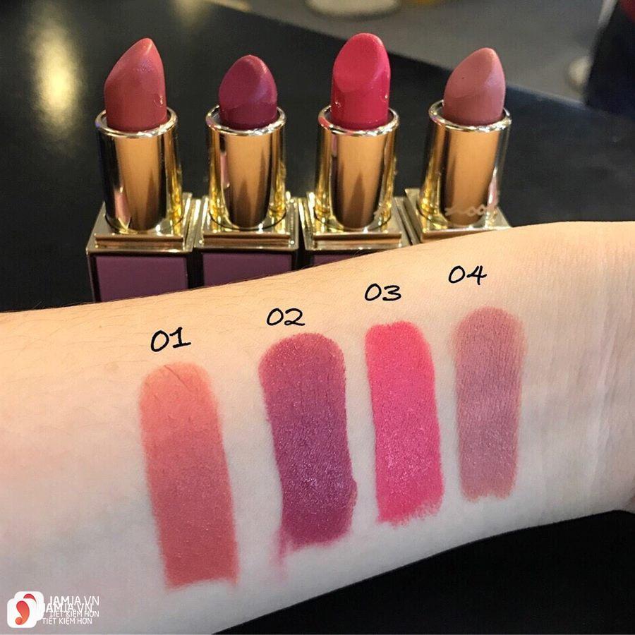 Review son Hoonie Matte Lipstick 2018 4