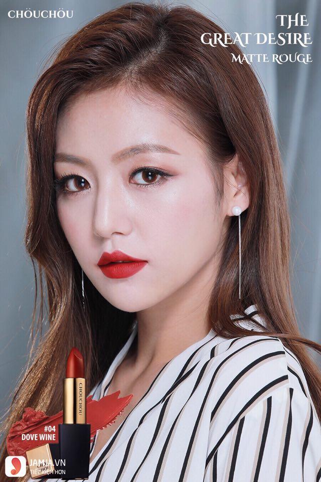 Son Chou Chou Desire màu 04